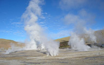 Geysers Del Tatio Volcano - Adventure to Atacama and La Quebrada de Humahuaca, trekking with Patagonia Adventure Trip at North of Chile and Argentina