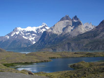 Paine Horns at Torres del paine, Chile -  Trekking with Patagonia Adventure Trip